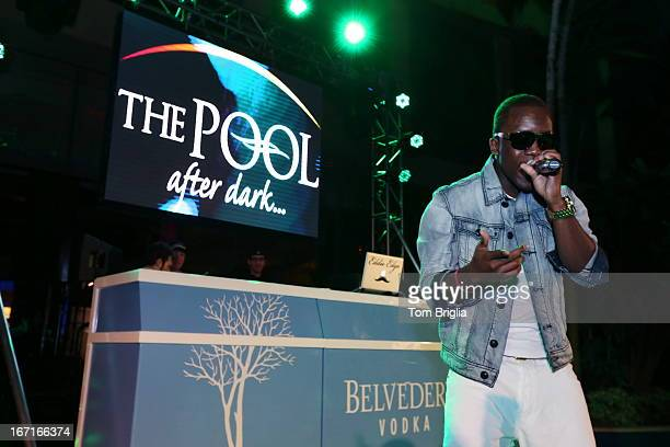 Iyaz performs live at The Pool After Dark at Harrah's Resort on Friday April 12 2013 in Atlantic City New Jersey