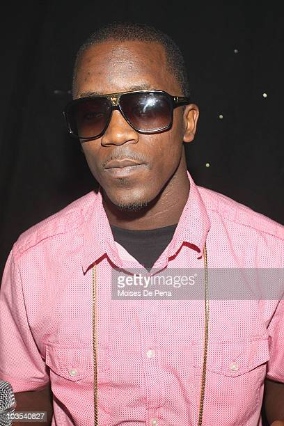 Iyaz poses backstage at Webster Hall on August 21 2010 in New York City