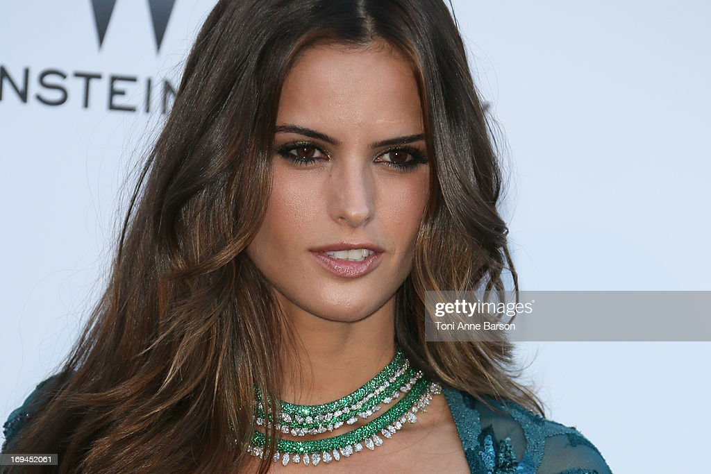 Izabel Goulart arrives at amfAR's 20th Annual Cinema Against AIDS at Hotel du Cap-Eden-Roc on May 23, 2013 in Cap d'Antibes, France.