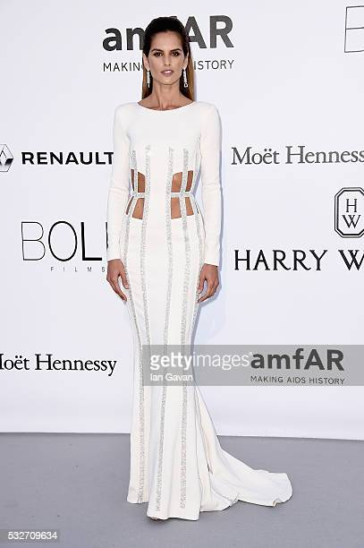 Izabel Goulart arrives at amfAR's 23rd Cinema Against AIDS Gala at Hotel du CapEdenRoc on May 19 2016 in Cap d'Antibes France