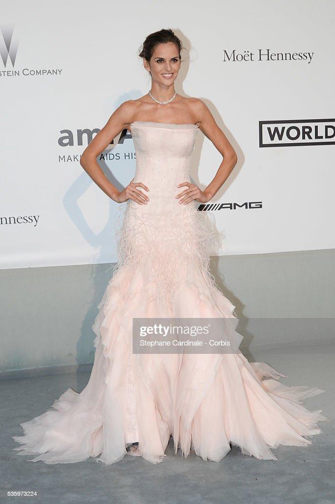Izabel Goulart at the amfAR's 21st Cinema Against AIDS Gala at Hotel du Cap-Eden-Roc during the 67th Cannes Film Festival