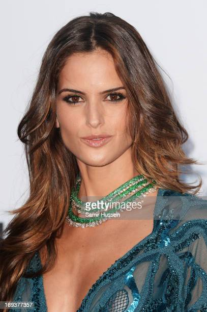 Izabel Goulart attends amfAR's 20th Annual Cinema Against AIDS during The 66th Annual Cannes Film Festival at Hotel du CapEdenRoc on May 23 2013 in...