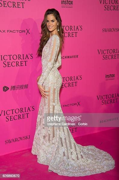 Izabel Goulart attends the 2016 Victoria's Secret Fashion Show after party at Le Grand Palais on November 30 2016 in Paris France