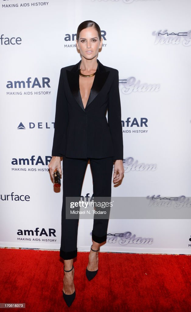 Izabel Goulart attends the 4th Annual amfAR Inspiration Gala New York at The Plaza Hotel on June 13, 2013 in New York City.