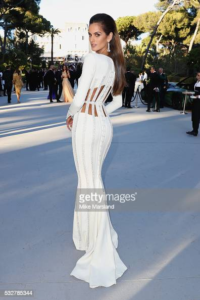 Izabel Goulart attends the amfAR's 23rd Cinema Against AIDS Gala at Hotel du CapEdenRoc on May 19 2016 in Cap d'Antibes France