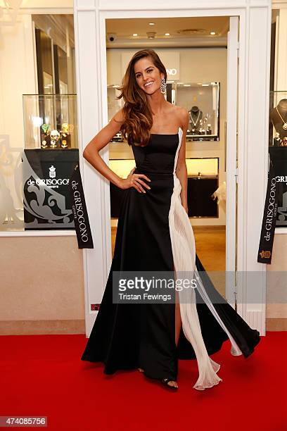 Izabel Goulart attends the opening of the De Grisogono store during the 68th annual Cannes Film Festival on May 20 2015 in Cannes France