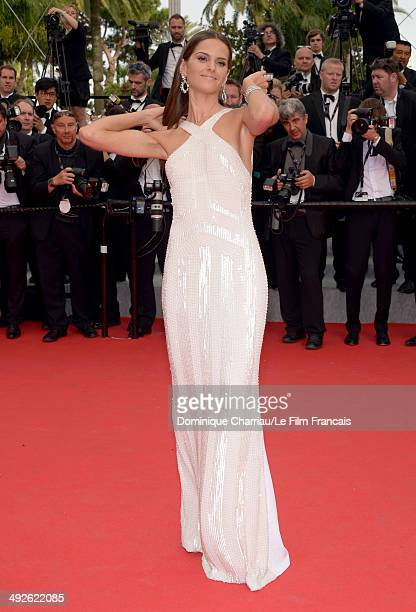 Izabel Goulart attends 'The Search' Premiere at the 67th Annual Cannes Film Festival on May 21 2014 in Cannes France
