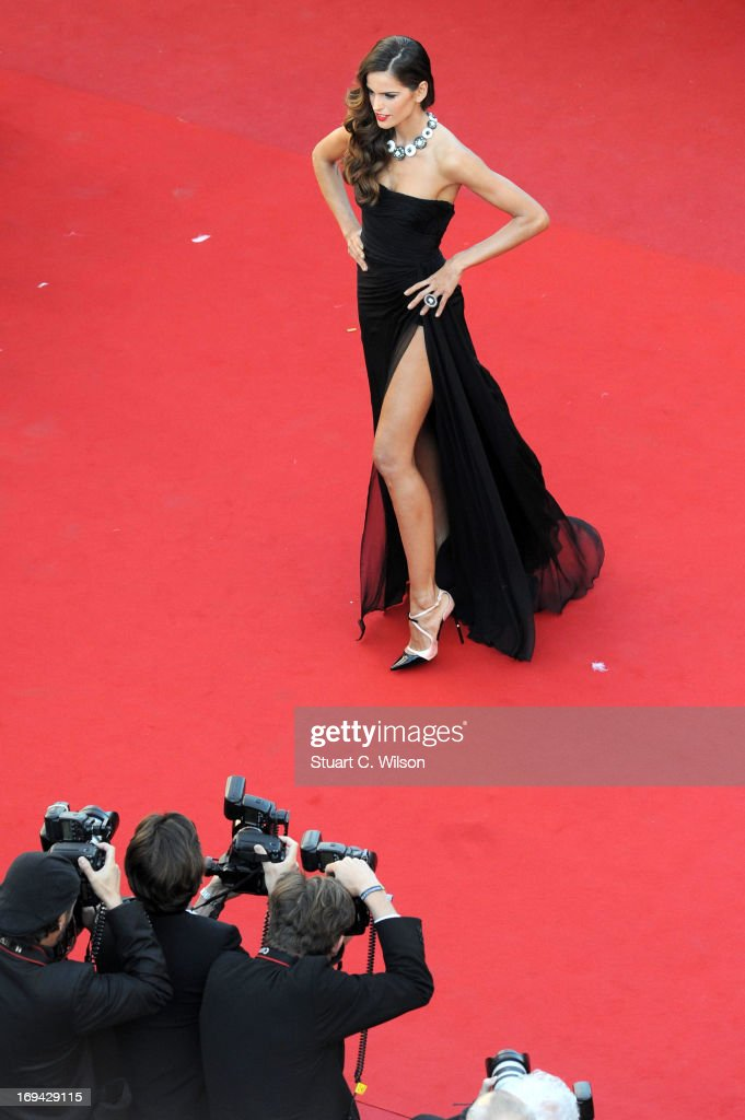 Izabel Goulart attends the 'The Immigrant' premiere during The 66th Annual Cannes Film Festival at the Palais des Festivals on May 24, 2013 in Cannes, France.
