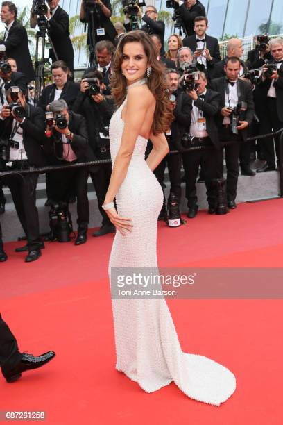 Izabel Goulart attends the 'The Killing Of A Sacred Deer' screening during the 70th annual Cannes Film Festival at Palais des Festivals on May 22...