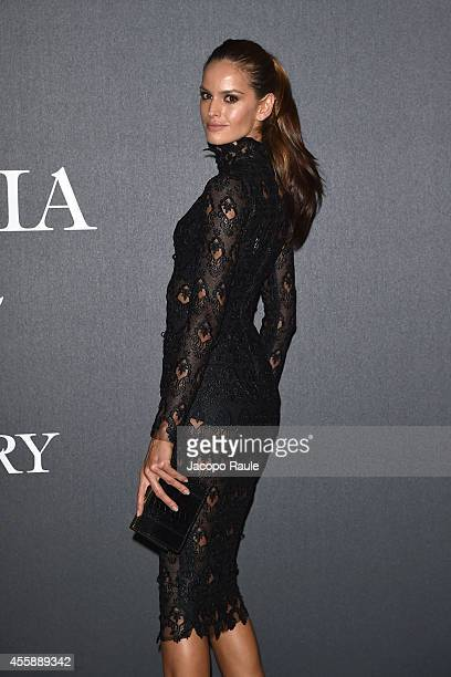 Izabel Goulart attends Vogue Italia 50th Anniversary during Milan Fashion Week Womenswear Spring/Summer 2015 on September 21 2014 in Milan Italy