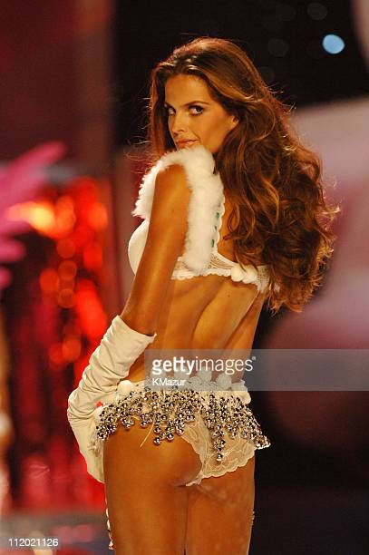 Izabel Goulart during 10th Victoria's Secret Fashion Show Runway at The New York State Armory in New York City New York United States