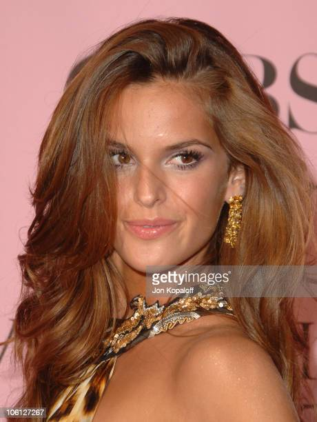Izabel Goulart during 11th Victoria's Secret Fashion Show Arrivals at Kodak Theatre in Hollywood California United States