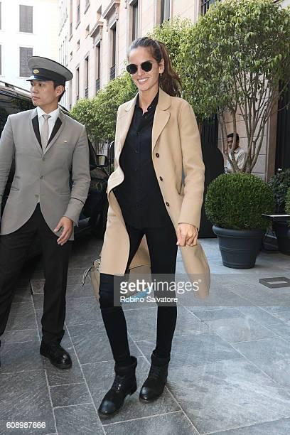 Izabel Goulart is seen on September 20 2016 in Milan Italy