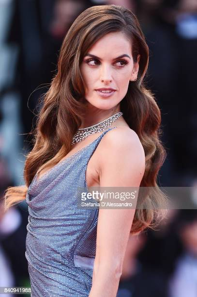 Izabel Goulart walks the red carpet ahead of the 'Downsizing' screening and Opening Ceremony during the 74th Venice Film Festival at Sala Grande on...