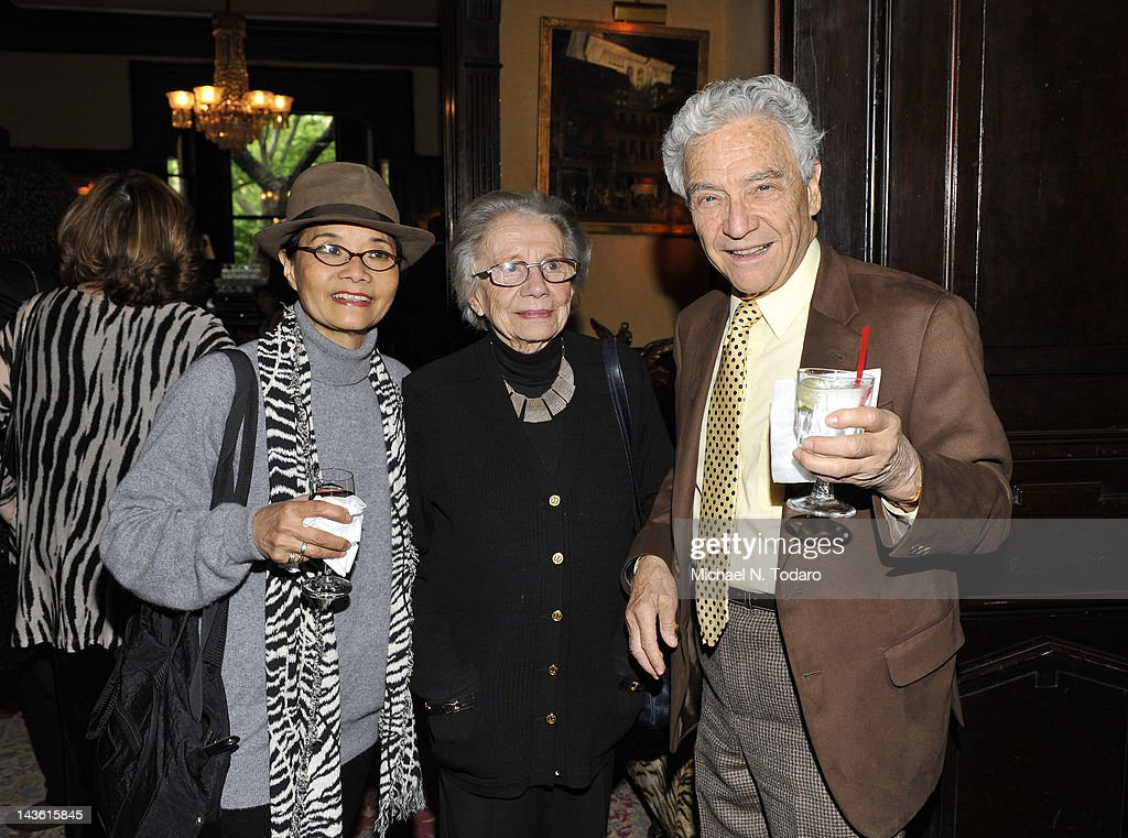 Izabel Lam (L), and Yoel Haller (R) attend the Norman Mailer Center Commendation Awards at The National Arts Club on April 30, 2012 in New York City.