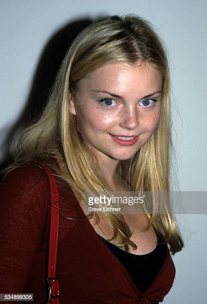 Izabella Miko at Wonder Bra event New York August 8 2000