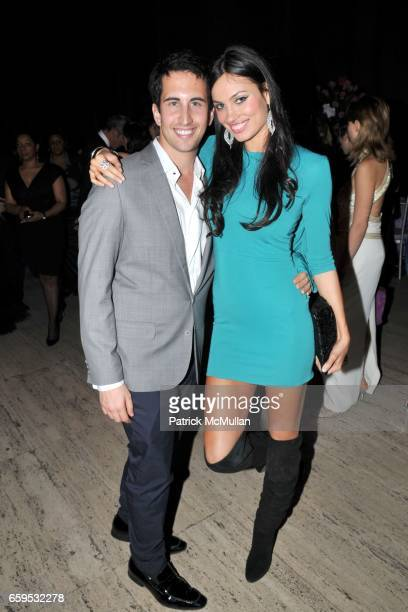 Izak Rappaport and Alina Puscau attend DENISE RICH Hosts 2009 ANGEL BALL at Cipriani Wall Street on October 20 2009 in New York City