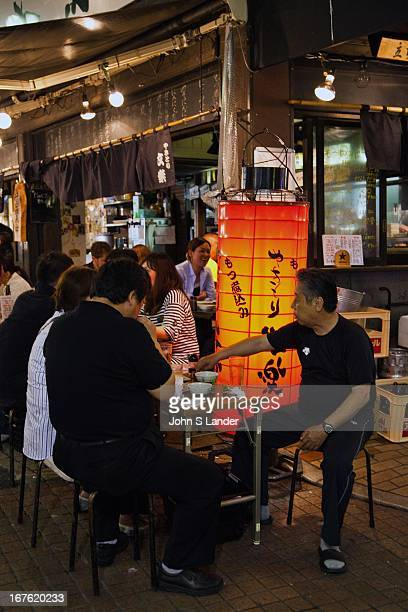 Izakaya and tachinomiya run the gamut from grubby to pristine seedy to swank What they all have in common is low priced alcohol and light food The...