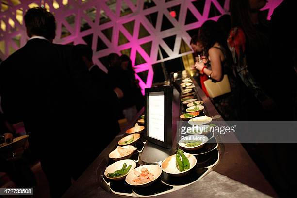 Izakaya bites at The Phillips Collection's 2015 Contemporaries Bash at Union Market on May 8 2015 in Washington DC