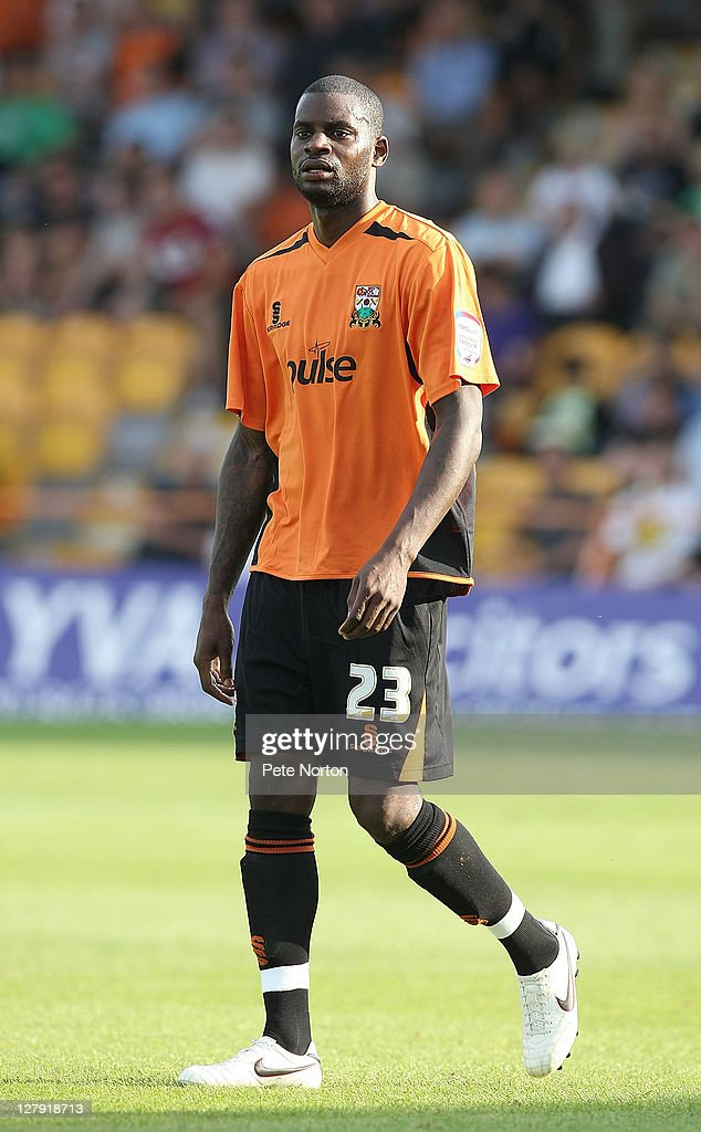 Izale McLeod of Barnet in action during the npower League two match between Barnet and Northampton Town at Underhill Stadium on October 1, 2011 in Barnet, England.