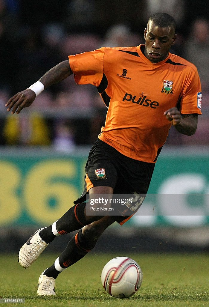 Izale McLeod of Barnet in action during the npower League Two match between Northampton Town and Barnet at Sixfields Stadium on January 21, 2012 in Northampton, England.