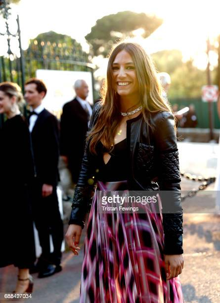 Izia Higelin arrives at the amfAR Gala Cannes 2017 at Hotel du CapEdenRoc on May 25 2017 in Cap d'Antibes France