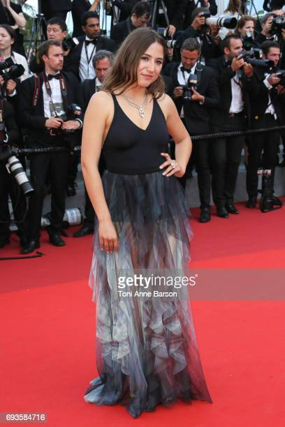 Izia Higelin attends the 70th anniversary event during the 70th annual Cannes Film Festival at Palais des Festivals on May 23 2017 in Cannes France