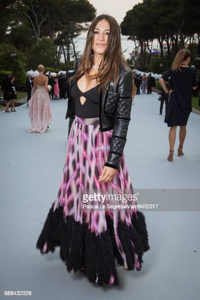 Izia Higelin attends the amfAR Gala Cannes 2017 at Hotel du CapEdenRoc on May 25 2017 in Cap d'Antibes France