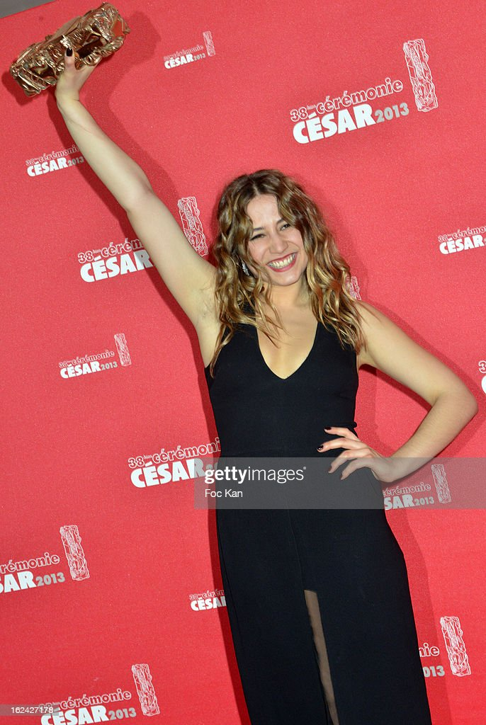 Izia Higelin attends the Awards Room - Cesar Film Awards 2013 at the Theatre du Chatelet on February 22, 2013 in Paris, France.