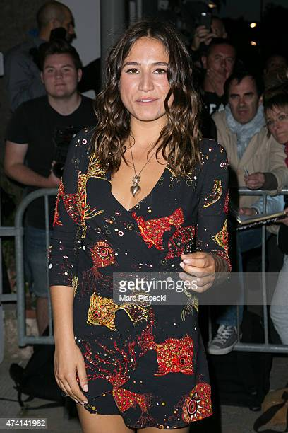 Izia Higelin attends the 'CHANEL' dinner at 'Tetou' restaurant during the 68th annual Cannes Film Festival on May 20 2015 in Cannes France