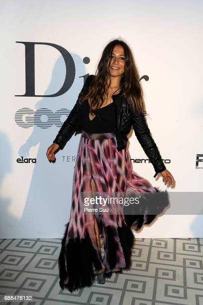 Izia Higelin attends the 'Good Time' after party at Club Albane during the 70th annual Cannes Film Festival at Club Albane on May 25 2017 in Cannes...