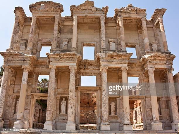 izmir ephesus celsus library, tourism travel destination