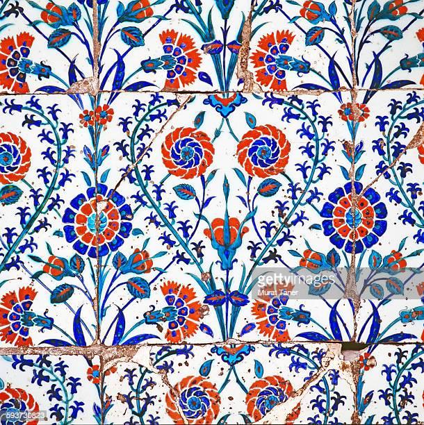 Iznik tiles in Blue Mosque