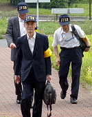 Izumisano Japan Three inspectors of the Japan Transport Safety Board an arm of the Land Infrastructure Transport and Tourism Ministry head for an...