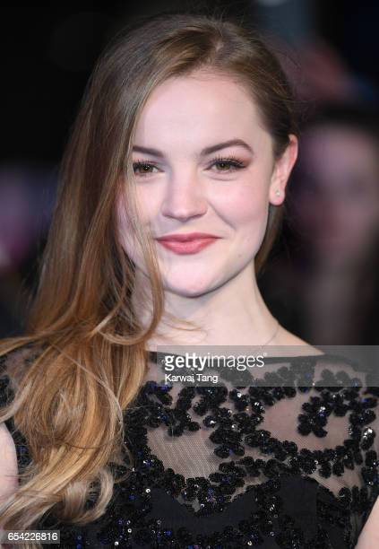 Izzy MeikleSmall attends the World Premiere of 'Another Mother's Son' at the Odeon Leicester Square on March 16 2017 in London England