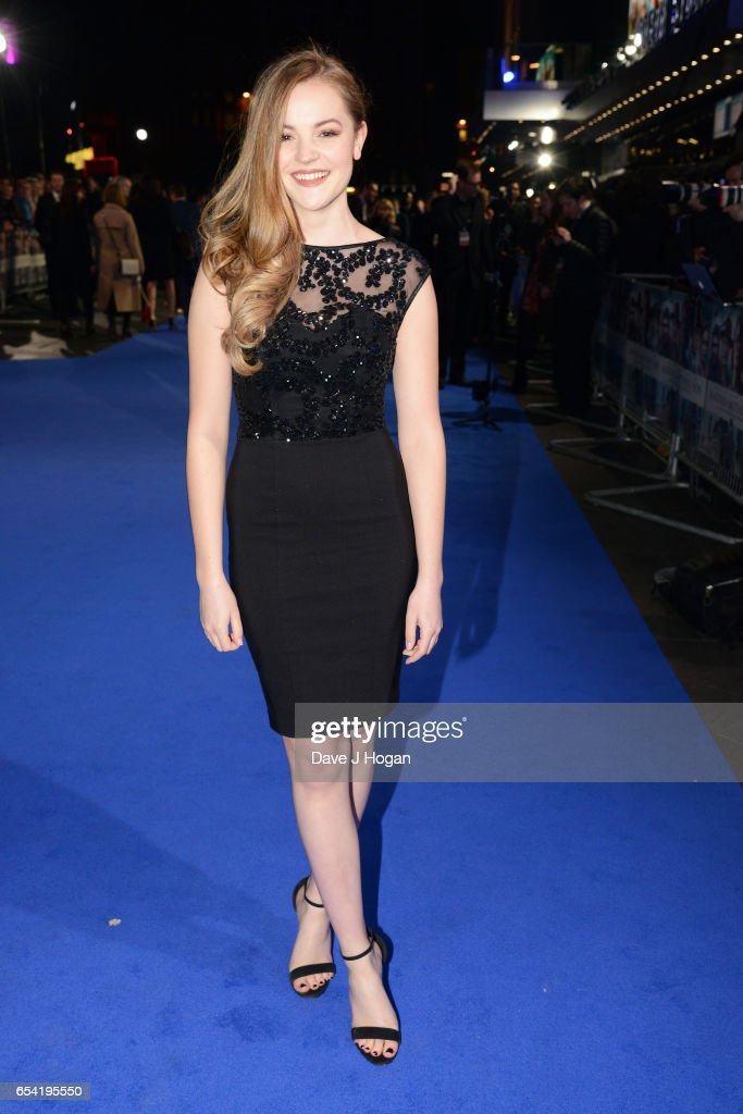 Izzy Meikle-Small attends the World Premiere of 'Another Mother's Son' on March 16, 2017 in London, England.