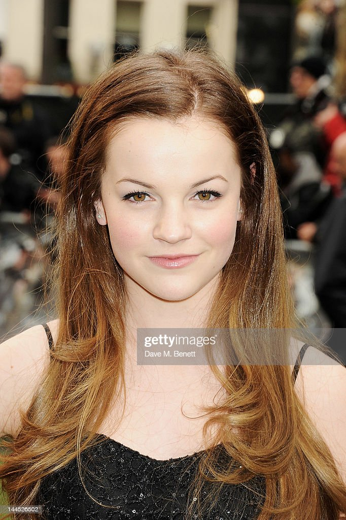 Izzy Meikle-Small attends the World Premiere of 'Snow White And The Huntsman' at Empire Leicester Square on May 14, 2012 in London, England.