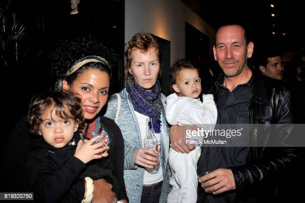 Izzy Rachel Ayala Barbara V Max and Michael Pozner attend IN DIALOGUE CURATED BY PETER MAKEBISH HOSTED BY ANONYMOUS GALLERY at Anonymous Gallery on...