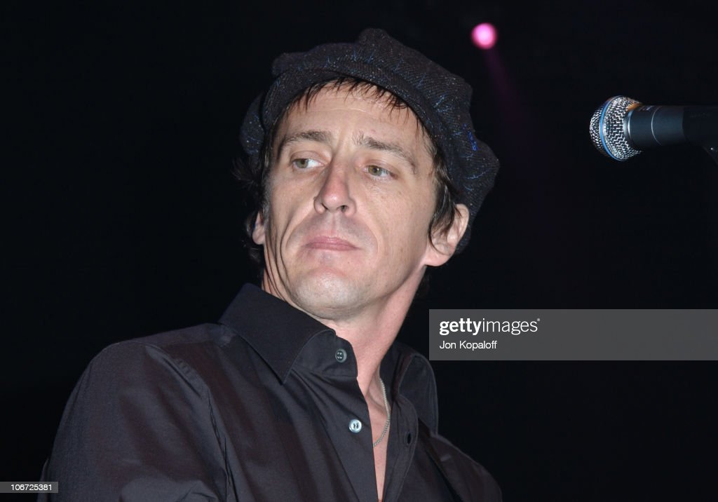 Izzy Stradlin during DKNY Presents Vanity Fair 'In Concert' To Benefit Step Up Women's Network - Concert at Avalon Hollywood in Hollywood, California, United States.