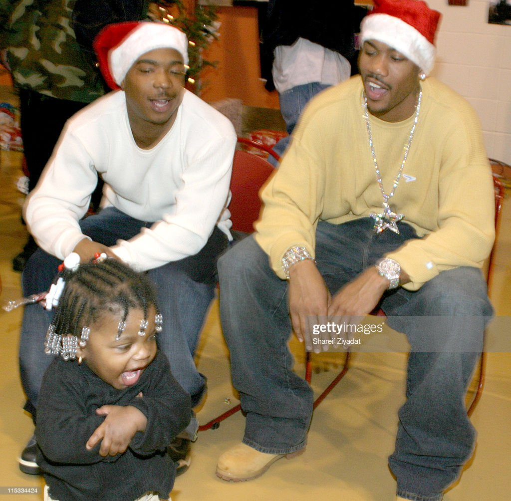 Ja Rule and Stephon Marbury Gift Giving - December 23, 2004