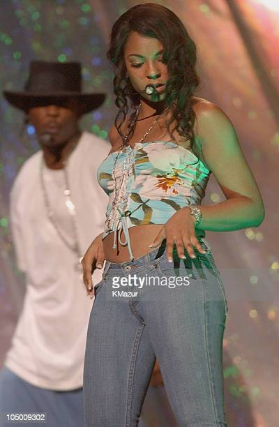 Ja Rule Ashanti during 2002 MTV Video Music Awards Rehearsals Day 1 at Radio City Music Hall in New York City New York United States