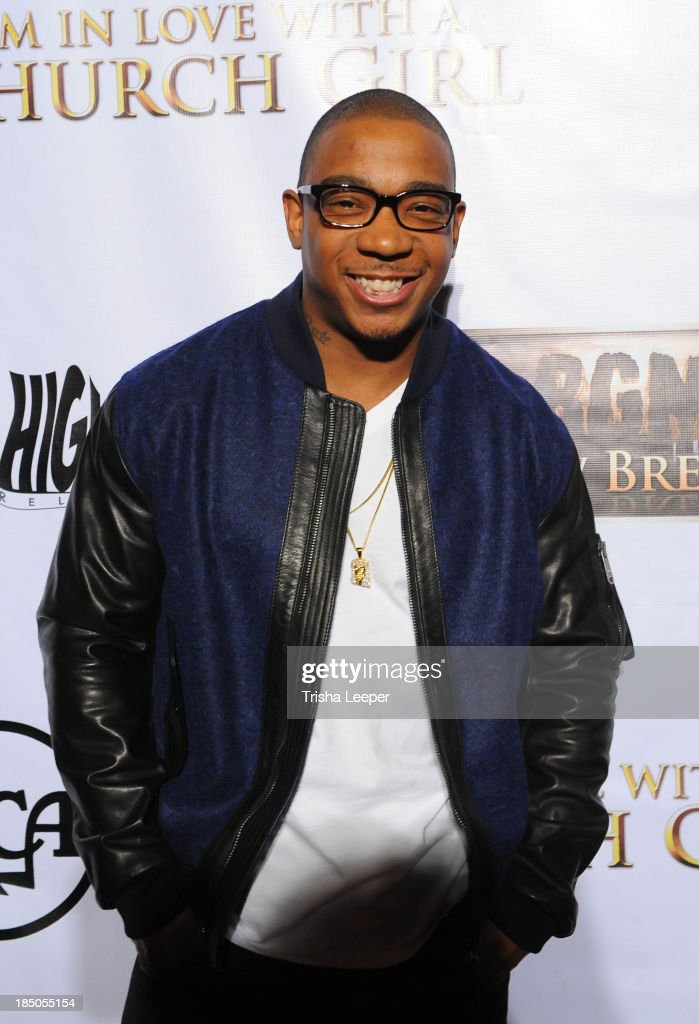 <a gi-track='captionPersonalityLinkClicked' href=/galleries/search?phrase=Ja+Rule&family=editorial&specificpeople=202108 ng-click='$event.stopPropagation()'>Ja Rule</a> attends the 'I'm In Love With A Church Girl' premiere at California Theatre on October 15, 2013 in San Jose, California.