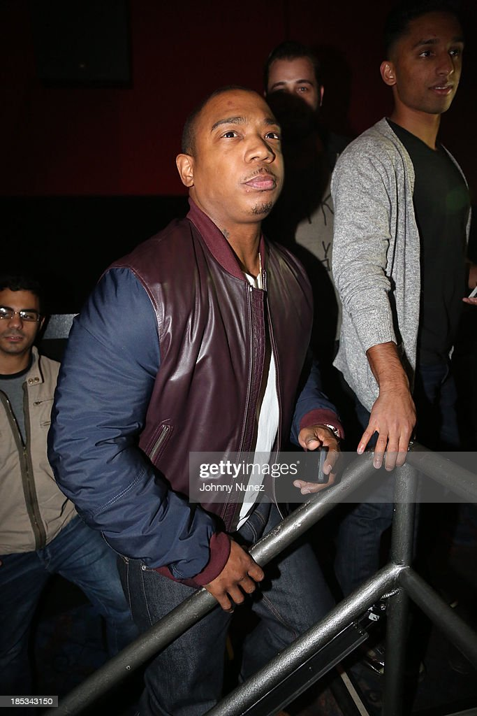 Ja Rule attends the 'I'm In Love With a Church Girl' screening at the Regal E-Walk Stadium 13 on October 18, 2013 in New York City.