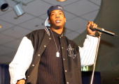 Ja Rule attends the Knicks Poetry Slam Series on February 1 2006 at Madison Square Garden in New York City NOTE TO USER User expressly acknowledges...