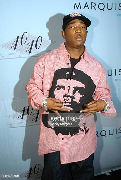 Ja Rule during 40/40 Club Celebrates One Year Anniversary at 40/40 Club in New York City New York United States