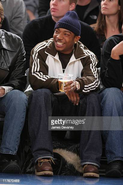Ja Rule during Celebrities Attend Chicago Bulls vs New York Knicks Game March 3 2006 at Madison Square Garden in New York City New York United States