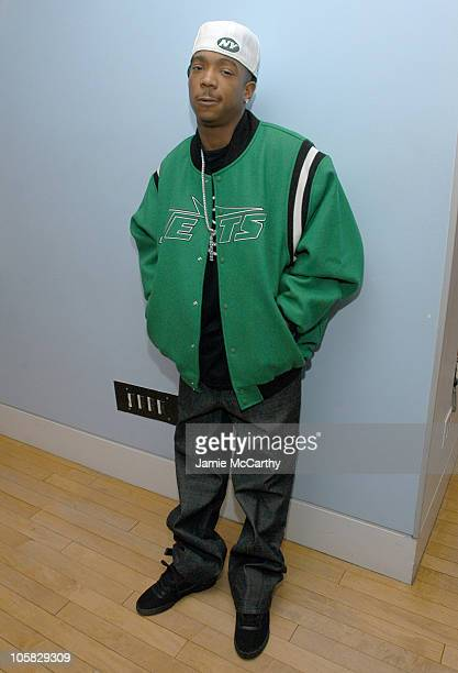 Ja Rule during Ja Rule Visits MTV's 'TRL' January 12 2005 at MTV Studios Times Square in New York City New York United States