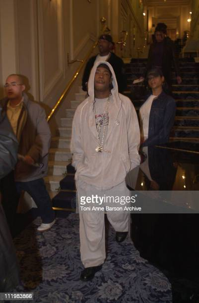 Ja Rule during World Music Awards 2002 Ja Rule Ashanti Press Conference at Hotel de Paris in MonteCarlo Monaco