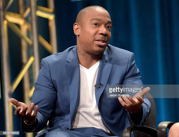 Ja Rule speaks onstage during the 'Follow The Rules' panel at the Viacom TCA Presentation at The Beverly Hilton Hotel on July 29 2015 in Beverly...