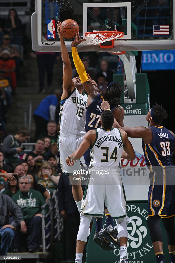 Indiana Pacers v Milwaukee Bucks | Getty Images Jabari Parker Jordans